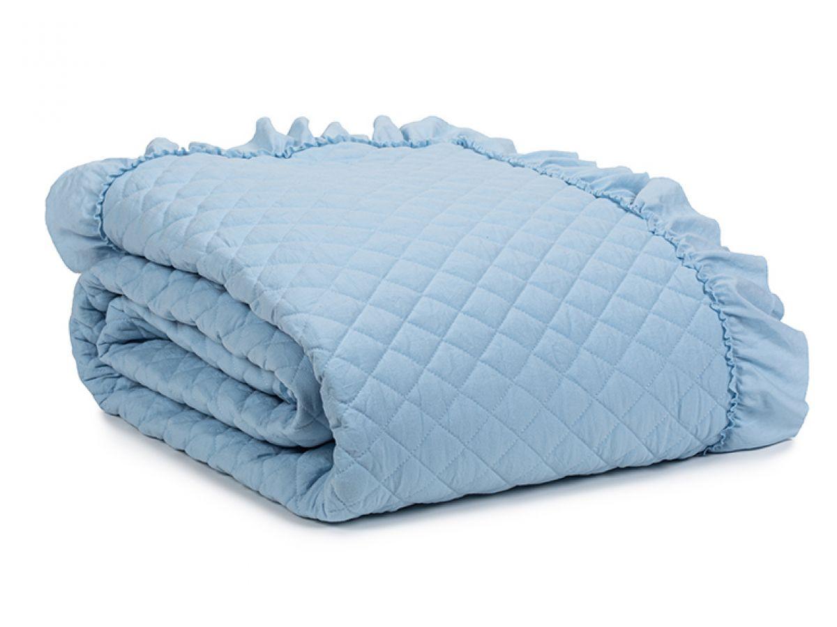 כיסוי מיטה לילי