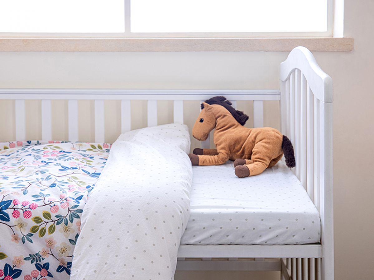 סט מצעי כותנה תינוק יערה